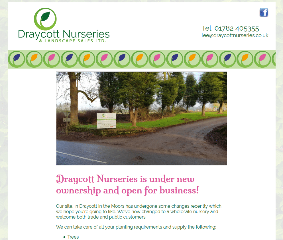 Draycott Nurseries & Landscape Sales Ltd - www.draycottnurseries.co.uk