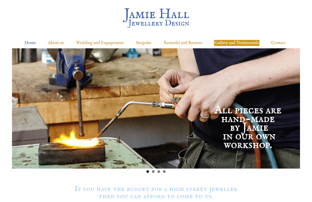 Jamie Hall Jewellery Design - www.jamiehalljewellery.co.uk