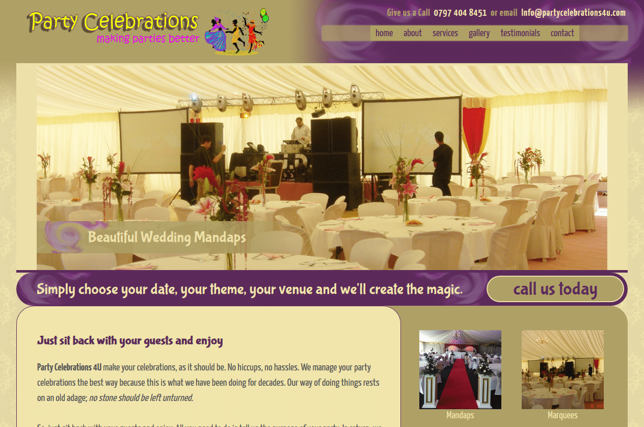 Party Celebrations 4U - www.partycelebrations4u.com